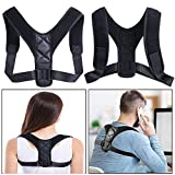 Beyond Posture Corrector, Adjustable Back Brace for Women and Men, Improves Posture