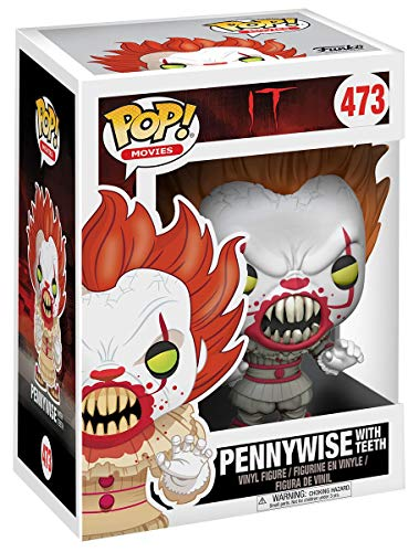 Pop 473 Pennywise With Teeth It A Coisa Funko Multicor Pequeno