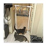 ベビーゲートWEIMEI 圧入 安全性 ゲート エクストラトール100cm 白い 強い門 に適し 出入り口、 廊下 そして 階段 (Size : 132-138cm)