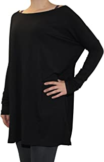 Piko Women's Famous Long Sleeve Bamboo Top Loose Fit Dolman Style