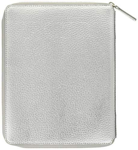 ラコニック 手帳カバー A5 合皮 シルバー LDC03-370SV