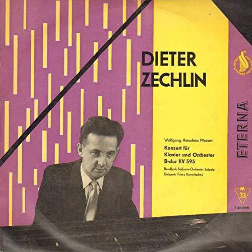 Dieter Zechlin - Wolfgang Amadeus Mozart , Rundfunk-Sinfonie-Orchester Leipzig , Franz Konwitschny - Konzert Für Klavier Und Orchester B-dur KV 595 - ETERNA - 7 20 099