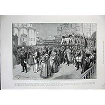 1896 の即位の皇帝のカテドラルの告知の皇后