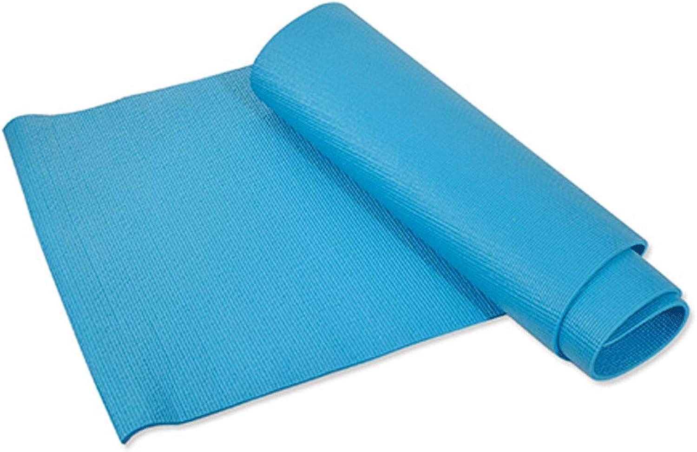 KYCD Yogamatte, Gymnastikmatte, Rutschfest, für Damen, erweiterte Verdickung, Yogamatte, Anfnger, geschmacklos, Rutschfeste Sit-Ups