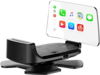 $399 » Sponsored Ad - Koodea Smart Head Display Wireless Bluetooth Connection CarPlay Wired Android Auto, Support Siri Voice, Pla...