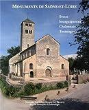 Monuments de Saône-et-Loire - Bresse bourguignonne, Chalonnais, Tournugeois