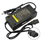 Royelerstore Electric Motorcycle Electric Bicycle AC Charger Adapter 3 Holes Plug Power Supply Corder fit 48V 20AH Battery 1.8-2.0A