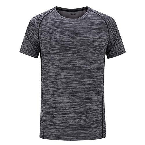 MedusaABCZeus Camisetas Atletismo,健身登山,户外速干t恤-深灰男_3XL,Gym Fitness Ropa De Secado Rapido Camisetas