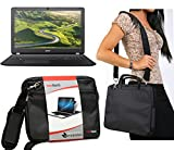 Navitech Schwarz Prime Case/Cover Trage Tasche für das Acer Aspire R3-131T / Acer Aspire E3-111-C1BW