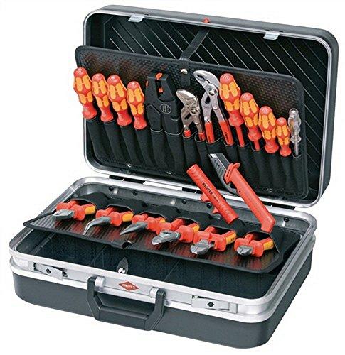 Knipex 00 21 20 Elektriker Werkzeugkoffer bestückt 20teilig (B x H x T) 480 x 175 x 370 mm