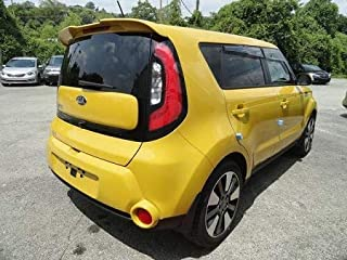 Accent Spoilers-Spoiler for a Kia Soul Factory Style Spoiler 2014-2019-Bright Silver Metallic Paint Code: 3D / A3D