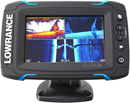 Lowrance ELITE-5 TI Med/High/ Downscan Fishfinder (Renewed)