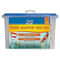 water quality test kit foamy water