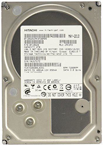 HGST Ultrastar A7K2000 2TB 3.5' 2000 GB Serial ATA II Unidad de - Disco Duro (3.5', 2000 GB, 7200 RPM)