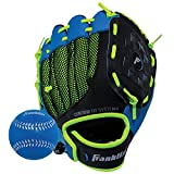 Franklin Sports Kids Baseball Glove - NeoGrip Boys + Girls Youth Tball Glove - Toddler + Youth Teeball, Baseball + Softball Mitt - Right Hand Throw - 9.5""