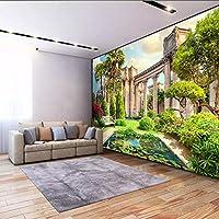 カスタム壁布家の装飾ローマの列庭の風景壁画写真壁紙壁紙壁カバー-200x140cm