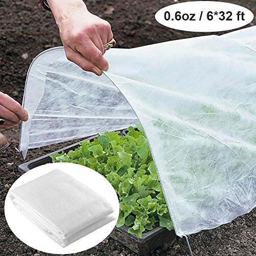 Plastic covers for freeze protection