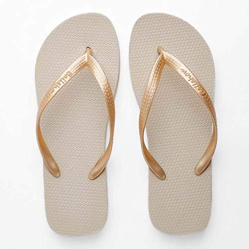 Zomer Flip-Flops Vrouwelijke mannen Flat Bottom Wild Groothandel Het dragen van Sandalen En Slippers Liefhebbers Strandschoenen