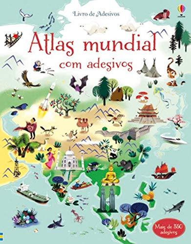 Atlas Mundial Livro Adesivos Lake