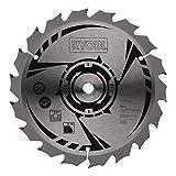 Ryobi CSB150A1 - Hoja para sierra circular TCT (150 mm, 18 dientes, compatible con RWSL180M)