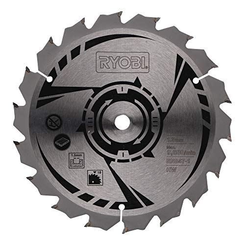 Ryobi Sägeblatt ø 150 mm CSB150A1 (für Sägen LCS180, RWSL180M, Bohrung 10 mm, 18 Zähne, Sägeblatt für Holz) 5132002579