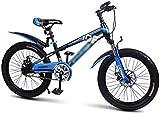 BANANAJOY Bicicletas niños pedal de bicicleta de los niños de 18 pulgadas Montaña Estudiante bicicletas ?? velocidad ajustable de bicicletas Estudiante Estudiante de bicicletas de montaña bicicletas (