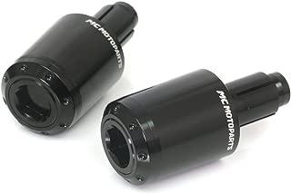 ATOM Black CNC Bar End Weights For Kawasaki ZX-6R Z1000 Z750 Z650 Z900 Z900RS Z800 Z800E Ninja 300 250 400 650 650R ER6F ER6N