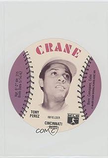 Tony Perez (Baseball Card) 1976 MSA Discs - [Base] - Crane Potato