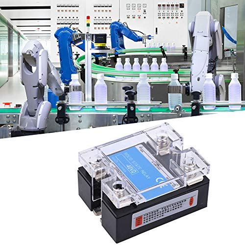 Relé de estado sólido resistente, 0-250VAC de plástico HECHO 50 / 60Hz 10A / 25A / 40A / 60A / 80A / 120A