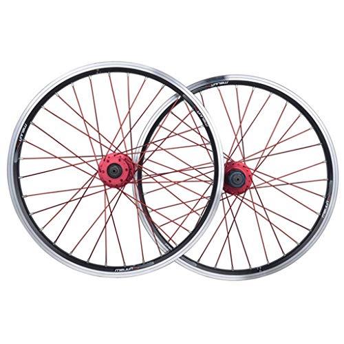 TYXTYX Juego de Ruedas de Bicicleta 26 Pulgadas MTB V-Brake/Freno de Disco Aleación de llanta de Doble Pared para Casete de 7 8 9 10 velocidades Llanta de llanta de 1,25~2,5'