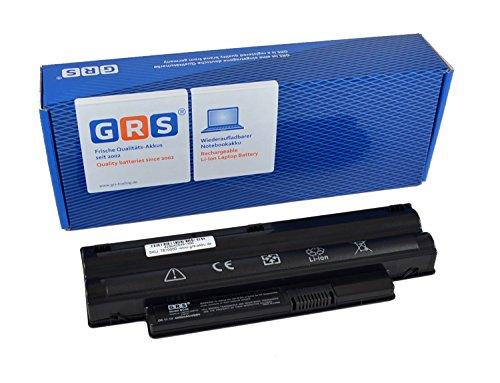 GRS Batterie pour Dell Inspiron Mini 10, 1012, remplacé: 312-0966, 312-0967, 8PY7N, A3580082, A3582339, CMP3D, G9PX2, KMP21, MGW5K, XCKN7, 312-1086, Laptop Batterie 4400mAh, 11.1V/ 49Wh
