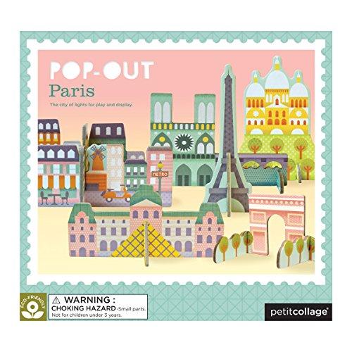 Petit Collage Paris | Puzzle Pop-Out