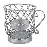 Lowral Coffee Capsule Cup Tejido Alambre De Hierro Almacenamiento...