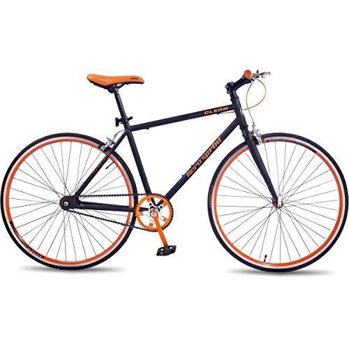 Hero Sprint Gleam 27T Single Speed Cycle (Orange)