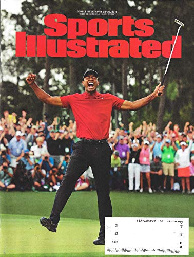 Sports Illustrated Magazine April 22-29, 2019 TIGER WOODS WINS THE MASTERS Cover, NBA Playoffs, NCAA Champs