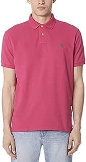 Mens Custom Fit Mesh Polo Shirt