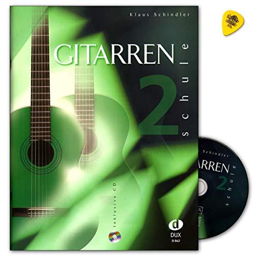 Gitarrenschule Band 2 mit CD - Autor Klaus Schindler - Verlag Edition Dux D862 9783934958111