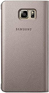Samsung Galaxy Note 5 S-View Flip Cover - Gold