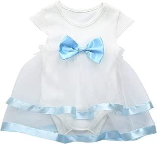 Baby Girls Skirt Set, Newborn Lemon Bow Strap Princess Party Casual Dresses with Sun Hats
