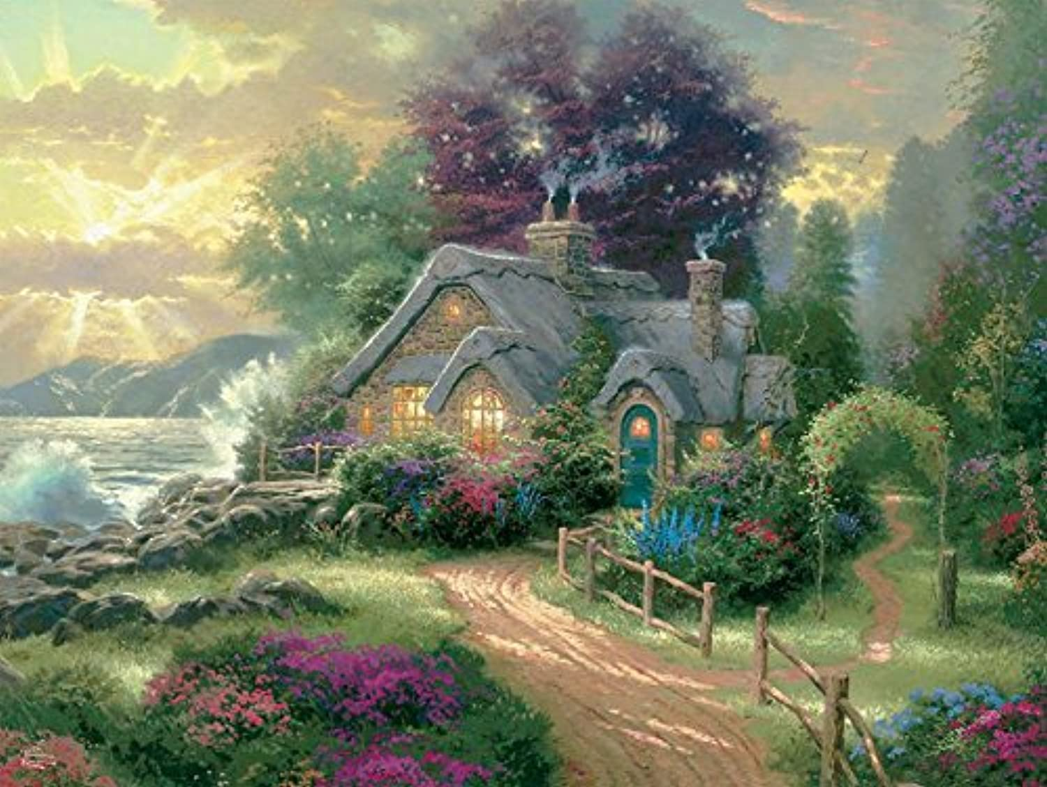 Ceaco 340130 A New Day Dawning Puzzle1500 Pieces