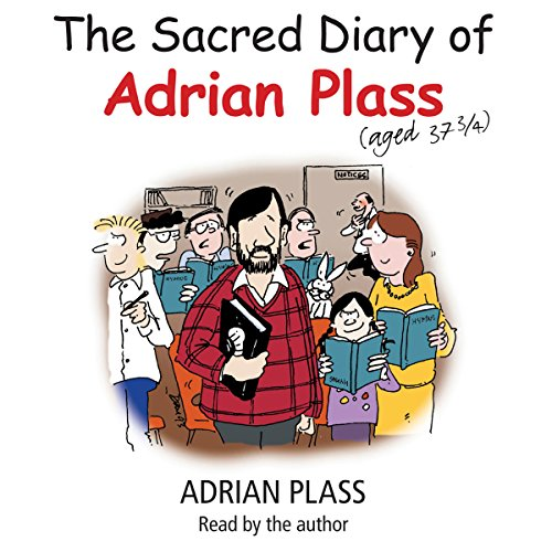 The Sacred Diary of Adrian Plass (Aged 37 3/4) audiobook cover art
