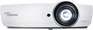Optoma EH465 1080P DLP Professional PC-Free Projector | High Bright 4800 Lumens | Present Wirelessly in Business Presentations & Classrooms | Crestron Compatible | 1.5X Zoom