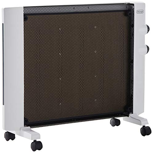 De'Longhi Mica Panel Heater, Rooms up to 250 sq. ft, White