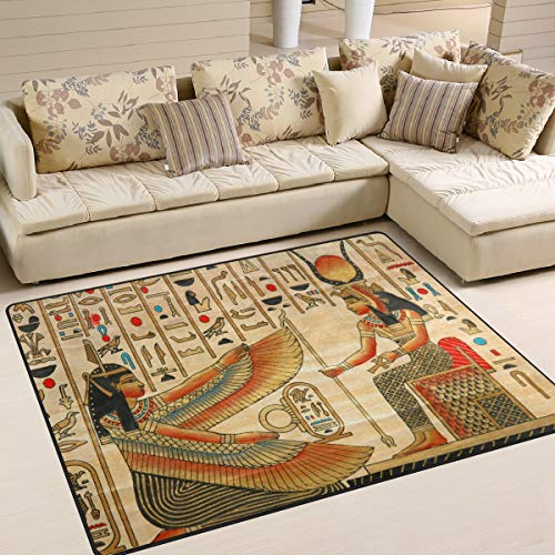 Use7 Antiguo Alfombra de Cultura egipcia para Sala de Estar o Dormitorio,...