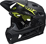 BELL Super DH MIPS Casco, Unisex, Matt/Gloss Black, Large/58-62 cm