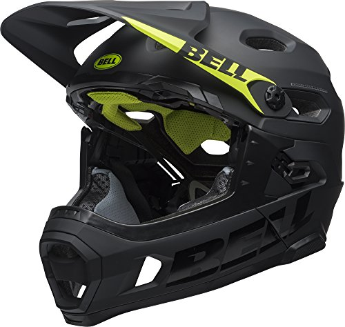 BELL Super DH, Casco Unisex, Matte/Gloss Black, L
