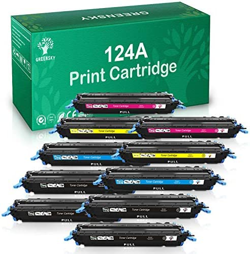 Premium Toner Cartridge Lot for HP Q6000A 124A Laserjet 2600n 2605dn 1600 2600 product image
