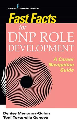 51ec2FCauHL - Fast Facts for DNP Role Development: A Career Navigation Guide
