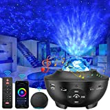 Star Projector, 4 in 1 Smart Galaxy Projector Works with Alexa, Google Assistant, Multiple Colors Phone App Remote Control, Night Light Projector with Bluetooth Speaker for Kid Adult Bedroom