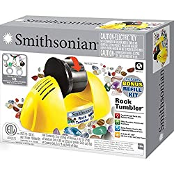 Best Rock Polishers Review - Smithsonian Rock Tumbler Kit